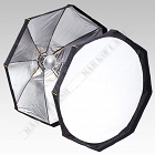 Softbox Beauty Dish 2w1 - 120cm z dyfuzorem
